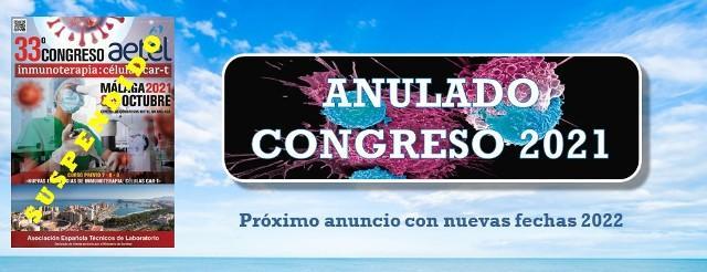 Anulado Congreso 2021