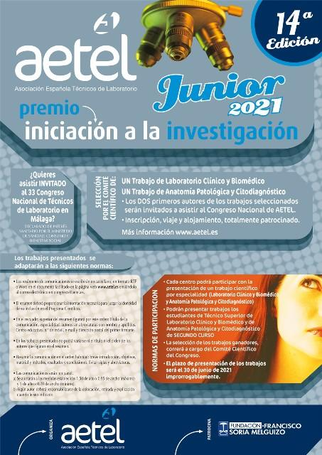 Premio AETEL Junior 2021