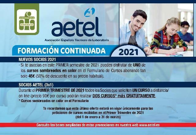 Promociones Formación Continuada 2º semestre 2020