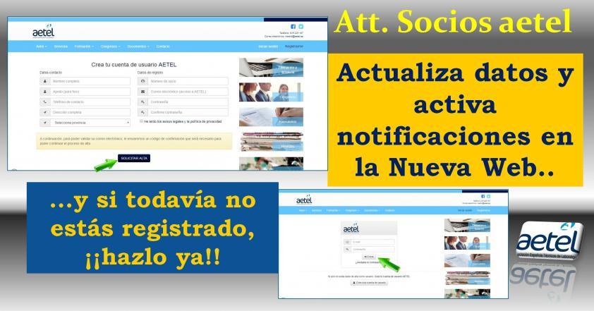 Autorización Notificaciones Web AETEL