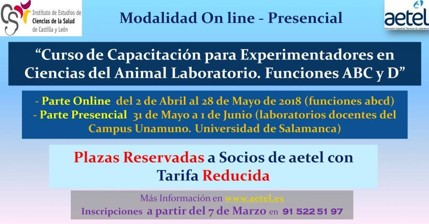 Curso Experimentadores Animalario