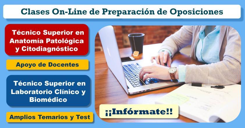 Cursos On-Line Preparación de Oposiciones