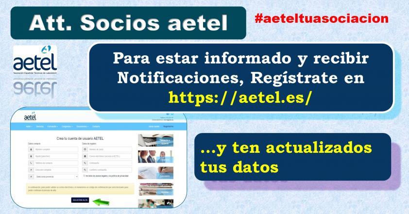 Notificaciones de AETEL